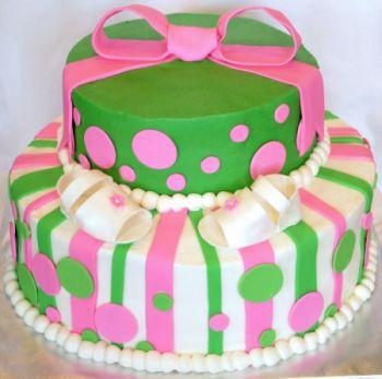 Babystripes Choco Vanila Cake