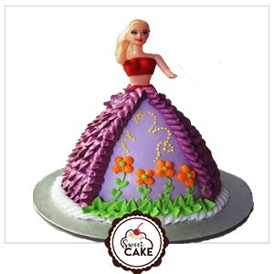 Barbie Doll Designer Cake