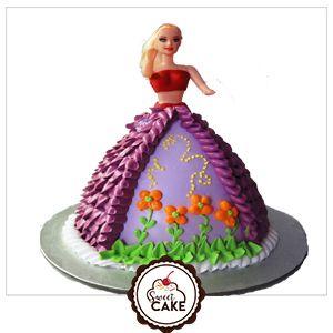 Barbie Doll Designer Cake