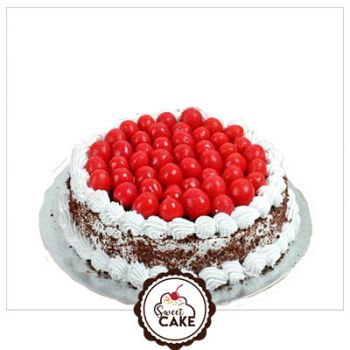 Black Forest Red Cherry Cake