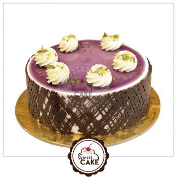 Blueberry sweet cake