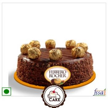 Chocolate Ferrero Rocher Cake