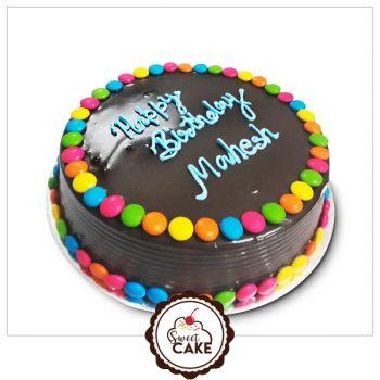 Chocolate Jems Cake