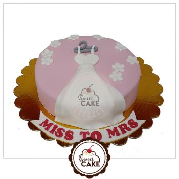 Miss To Mrs Cake