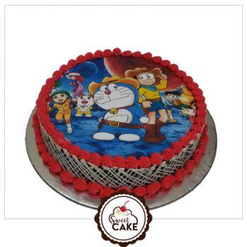 Doramon  Photo Cake