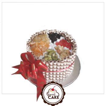 Mixed Fruit Manchini Cake