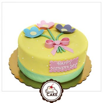 Mother's Day Special Fondant Cake