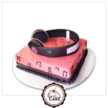 Music Beat Cake