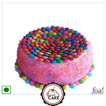 Strawberry Jems Cake